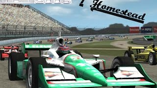 Indycar Series 2005 Career Mode #1 - Homestead!