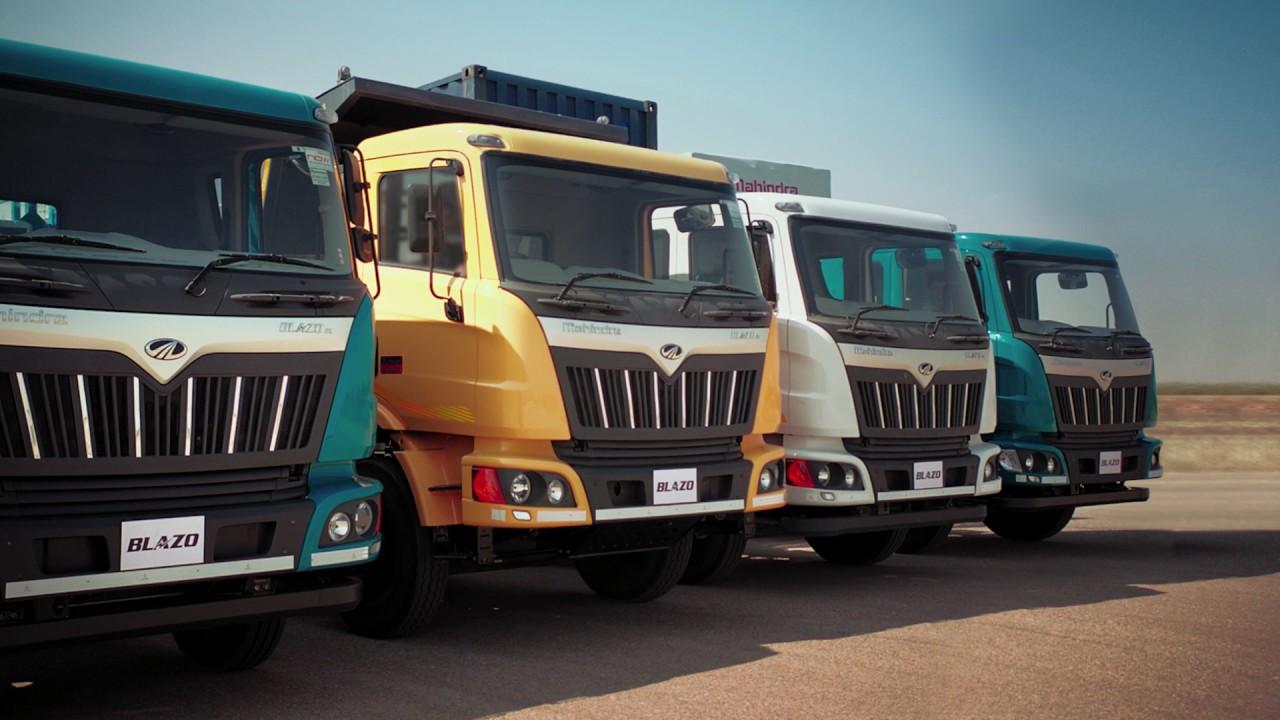 Mahindra Truck Bus Blazo Tvc Starring Ajay Devgn Sabse Aage