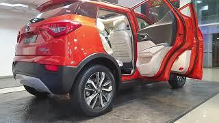 Mahindra XUV300 Sunburst Orange Fully Loaded   Exterior and Interior in 4K 60FPS