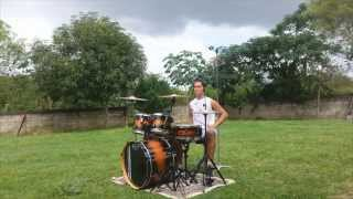 Gabriel Alves- Three Days Grace- I Hate Everything About You (Drum Cover)