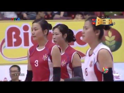 CLB 4.25(North Korea) - NH Cong Thuong (Vietnam) :Volleyball VTV Cup 2016