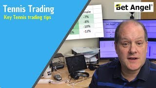 Peter Webb, Bet Angel - Key Tennis trading tips