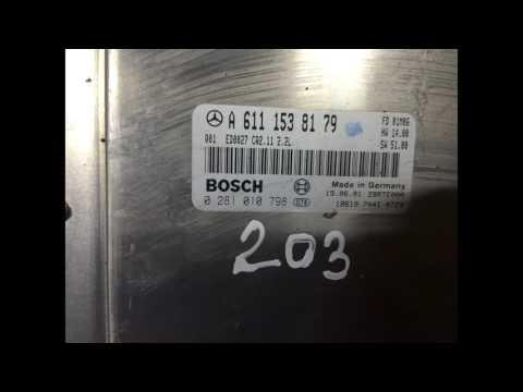 Блок Управления Двигателем Mercedes W203 A6111538179