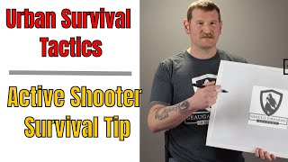 Urban Survival Tactics | Tip To Survive An Active Shooter: Dealing With A Panicked Crowd Video