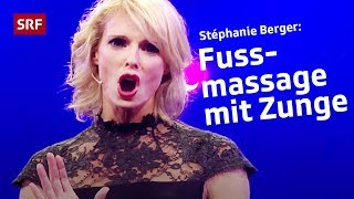 Stéphanie Berger und die Blicke der Frauen