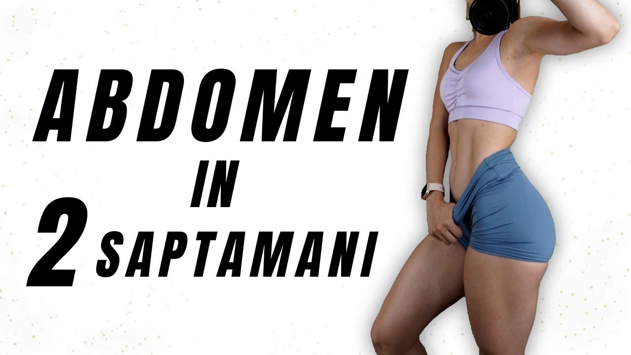 Abdomen In 2 Saptamani - Exercitii Pentru Abdomen