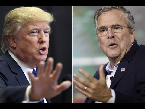 Trump's TWITTER Rampage Over JEB