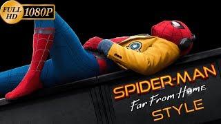 Человек-паук: Возвращение домой трейлер - (Far From Home style)