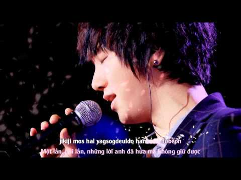 [Vietsub + Kara] Gray Paper (먹지) (Wind Blows In Winter OST) - Super Junior YeSung