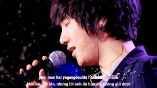 Gambar cover [Vietsub + Kara] Gray Paper (먹지) (Wind Blows In Winter OST) - Super Junior YeSung