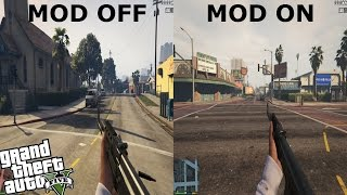 GTA 5 PC POV MOD - IMPROVED FIRST PERSON MODE