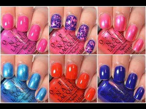 OPI - Brights 2015 | Swatch And Review