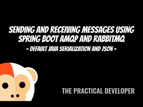 Sending and receiving JSON messages with Spring Boot AMQP