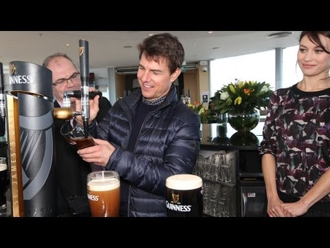Tom Cruise: 24 Hours In Dublin | RTÉ News