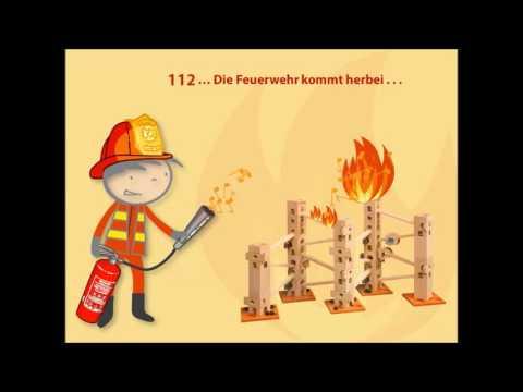 Kugelbahn Xyloba Feuerwehrlied - intern. Tag der Feuerwehr