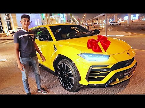 My 17 year old friend Bought his First Car * $300K LAMBORGHINI  * ...