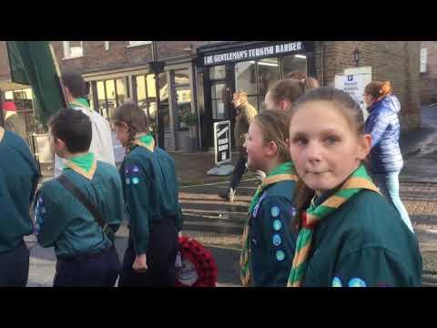 Remembrance Day Pocklington 2018