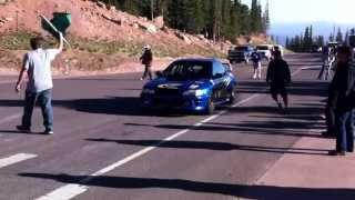 Pikes Peak 2013 Startline: Gregoire Blachon'S 1996 Subaru Impreza Boxer Diesel