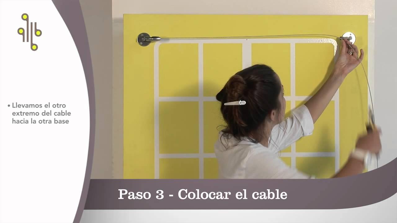 C mo instalar kit tensores cortina ventana modelo helsinki for Como poner ganchos de cortinas