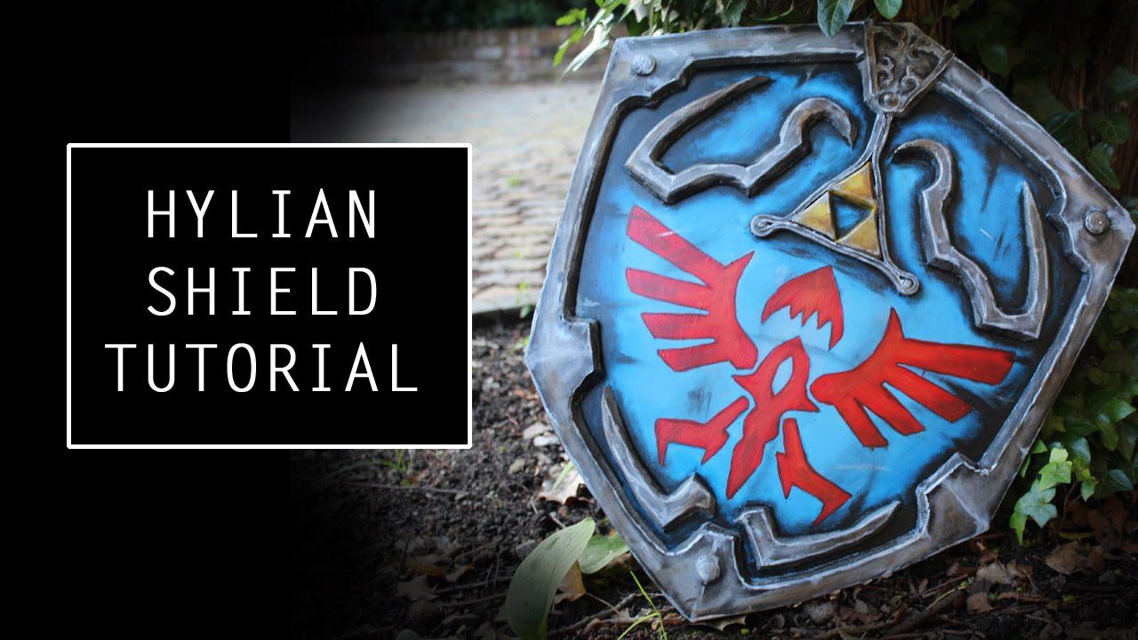 How to make a Hylian Shield- tutorial