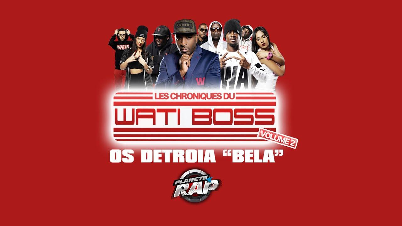 """Download Os Detroia """"Bela"""" en live #PlanèteRap"""