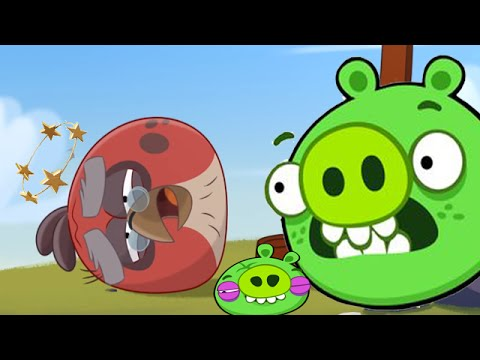 Angry birds epic last cave 17 three stars challenge youtube - Angry birds trio ...