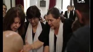 الوداع الأخير لراغد قيس في كفرحيم: غياب النجوم وشرطة المشاهير في محطتها الأخيرة!