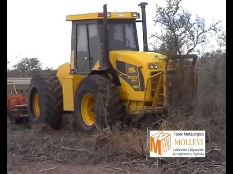 Metalurgica Mollevi - Arado rastra para desmonte y post desmonte - DRJ 04