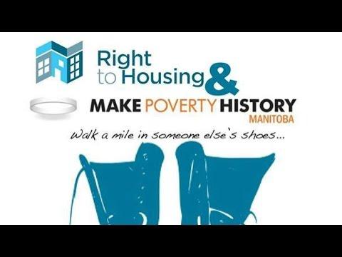 Make Poverty History Manitoba 2015