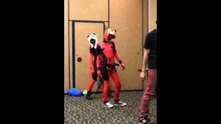 Deadpool twins (not twins) doing kpop dancing :D