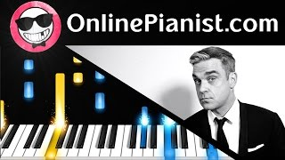 Robbie Williams - Angels - Piano Tutorial & Sheets Easy - How to Play