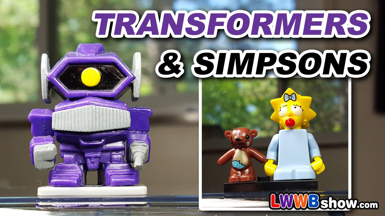 Transformers 30th Anniversary Amp Simpsons Lego Minifigures