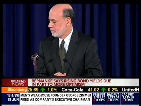 Federal Reserve Statement - Ben Bernanke, 19th June 2013