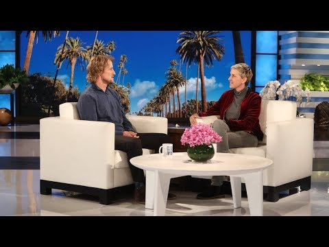 Owen Wilson on Meeting Julia Roberts, and Tandem Biking