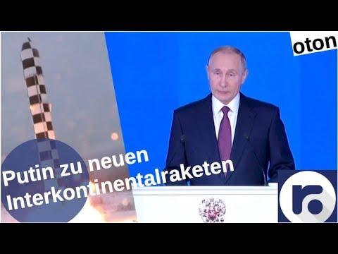 Putin über neue Interkontinentalraketen auf deutsch