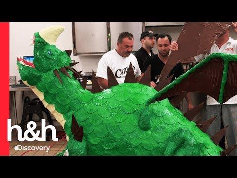 Cómo hacer un pastel de dragón en Carlo