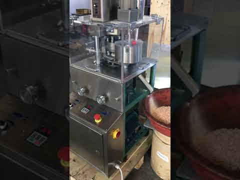 ZP9A rotary tablet press with force feeder