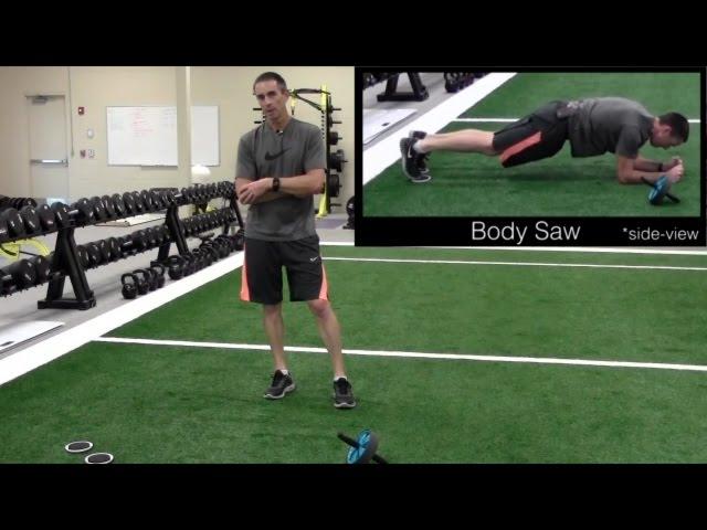 Swim-specific Core Stabilizer Exercises