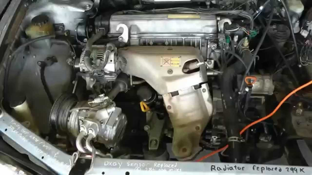 Part 1 Of 10 Remove Engine  U0026 Tranny Rebuild 1994 Toyota Camry Engine  U0026 Transmission 5sfe  U0026 A140e
