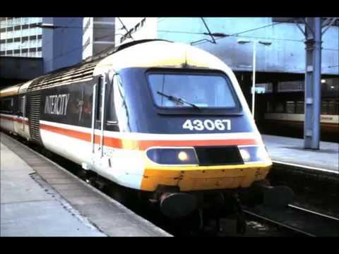 BRITISH RAILWAY HST CLASS 43 HIGH SPEED TRAIN PHOTO VIDEO
