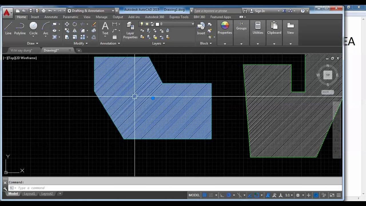 how do you find the area of a hatch in AutoCAD? « CAD Answers