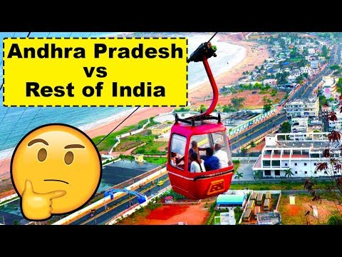 Andhra Pradesh vs Rest of India (Development Comparison)