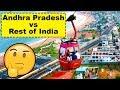 Andhra Pradesh vs Rest of India (Development Comparison)
