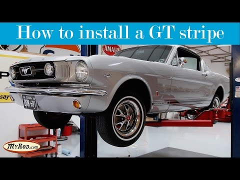 How to install a GT Stripe on a 1965-1967 Mustang - MyRod.co