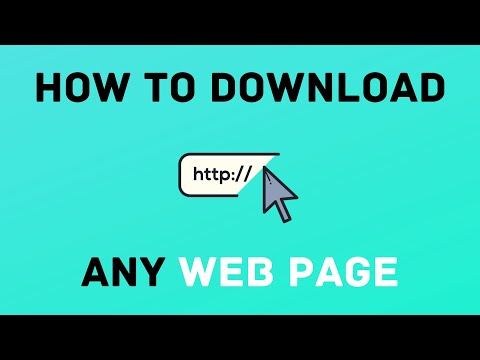 How To Download A Web Page And View It Offline