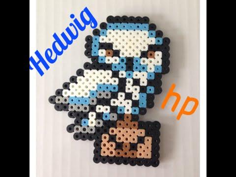 Perler Bead Hedwig TutorialHarry Potter YouTube Magnificent Harry Potter Perler Bead Patterns