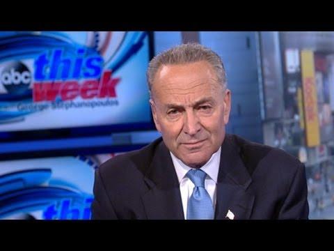 Charles Schumer 'This Week' Interview: New York Senator on Government Shutdown
