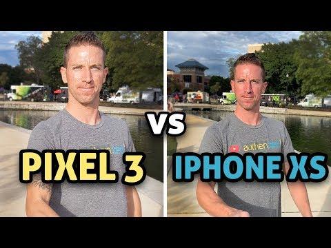 Pixel 3 vs iPhone XS - CAMERA TEST