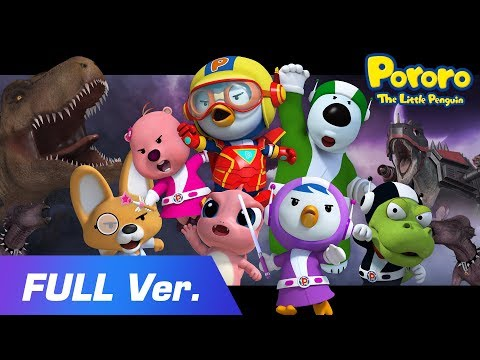 Pororo Movie - Pororo Heroes 2 L The Attack Of Dinosaurs L Full Movie L Show For Kids