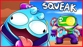 BRAWL STARS ANIMATION - SQUEAK IS OP